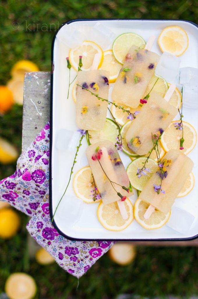 Citrus Margarita Spring Popsicle