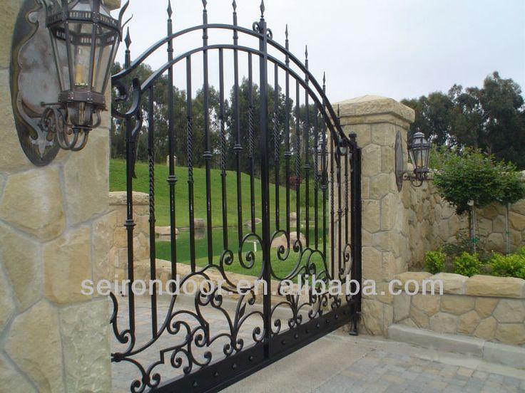 M s de 25 ideas fant sticas sobre portones de hierro - Puertas de hierro para jardin ...