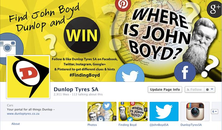 Like us on Facebook to receive more #FindingBoyd clues.