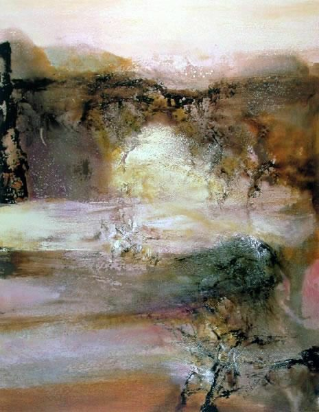 ♒ Art in the Abstract ♒  modern painting - Zao Wou-Ki