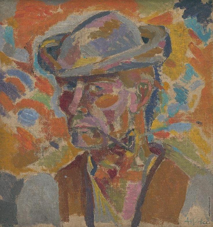 Arnold Peter Weisz-Kubínčan: Hlava muža:1930 - 1935