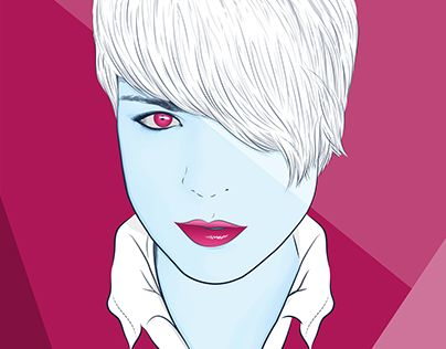 "Check out new work on my @Behance portfolio: ""Girl vector portrait"" http://on.be.net/1InLFA6"