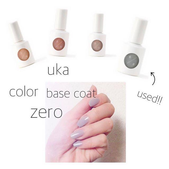 ネイルオイルでお馴染みの ukaから新シリーズが 入荷致しました✨ . ☑︎ネイルはセルフ派 ☑︎爪が弱い ☑︎ネイルしたいけど爪のダメージが心配 ☑︎マニキュアを塗るのが苦手 . . ひとつでも当てはまった方は ぜひ、1度試してみてください♡ . 爪用の美容液配合で 自爪への負担が少なく、 ストレスフリーです。 . 1度塗りならベースコート。 4度重ね塗りで発色の良い色になります。 . 写真のスタッフのネイル画像は 3度塗りです✨ . 実際に使用した感想としては・・・ 乾きがとにかく早い! セルフネイルの乾きの早さは とても助かります・・・♡ . ぜひ店頭でご覧くださいね...♪*゚ . . ukaカラーベースコートゼロ10ml ¥2,000- +  tax . . #BIRTHDAYBAR#バースデイバー #LUCUA#ルクア #uka#ウカ#ウカカラーベースコートゼロ #カラーベースコートゼロ #マニキュア#セルフネイル#ネイル