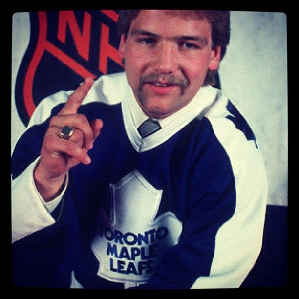 Wendel Clark was selected first overall in the 1985 draft by the Leafs