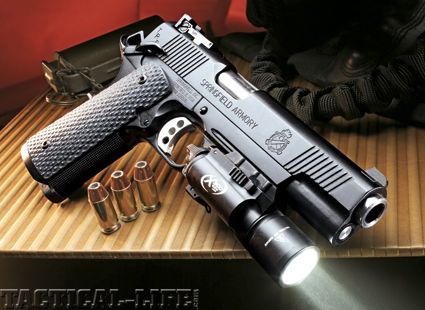 Yeah, I support and exercise the Second Amendment.  Springfield Armory 1911 TRP .45 ACP