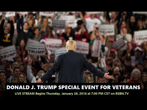 "Trump vs Fox News: Live Webcast From Donald Trump's ""Alternative"" Event | Zero Hedge"