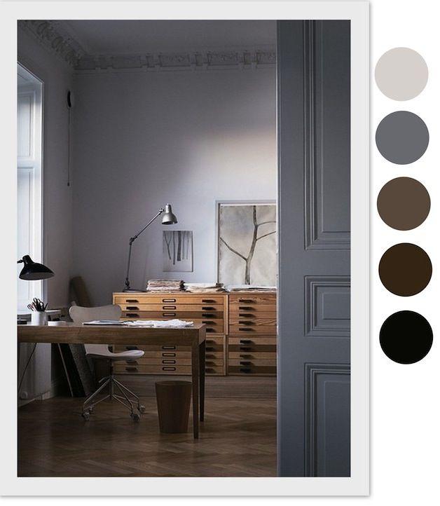 WABI SABI Scandinavia - Design, Art and DIY.: Color your work space