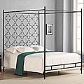 Quatrafoil Queen Canopy Bed | Overstock.com Shopping - The Best Deals on Beds