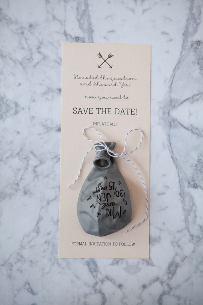 cruise wedding save the date announcement%0A Learn how to make a Sharpie Balloon Invitation