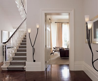 Those sconces! Kelly Hoppen.