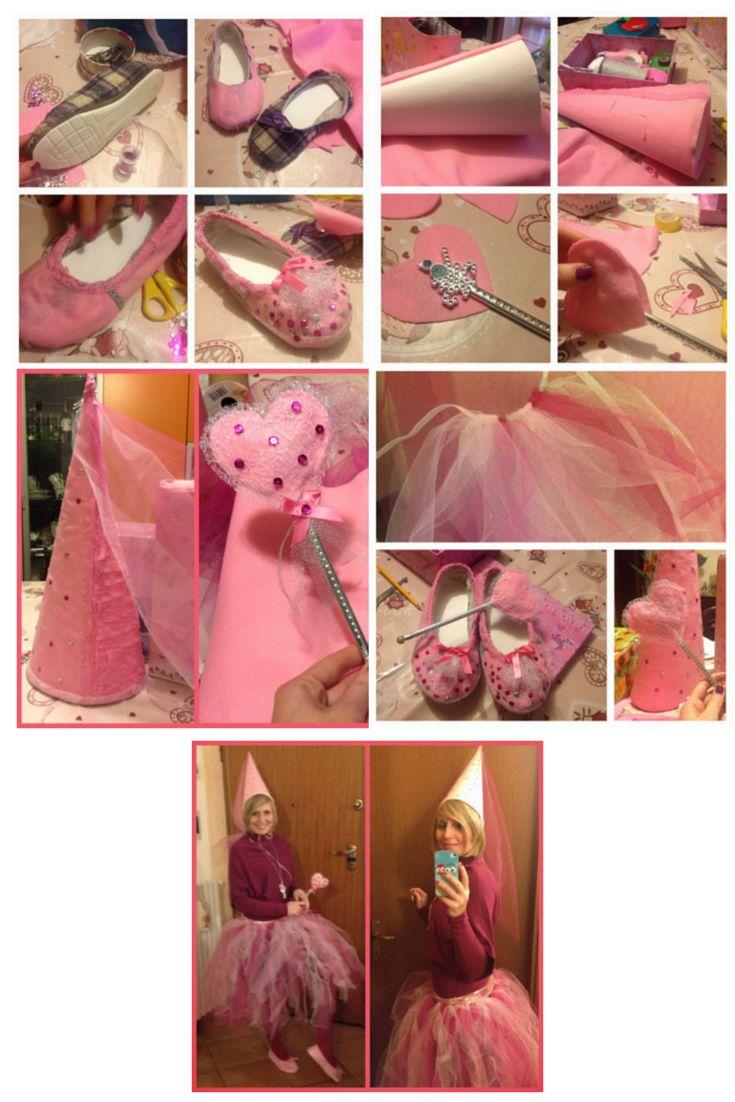 Tutù fairy - tutù da fata per mamme. Bacchetta magica e cappello con tulle. How to make a wand
