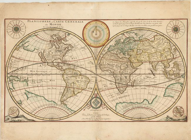 48 best old maps images on pinterest antique maps maps and old maps vintage world map printed fabric panel make a cushion upholstery craft gumiabroncs Gallery