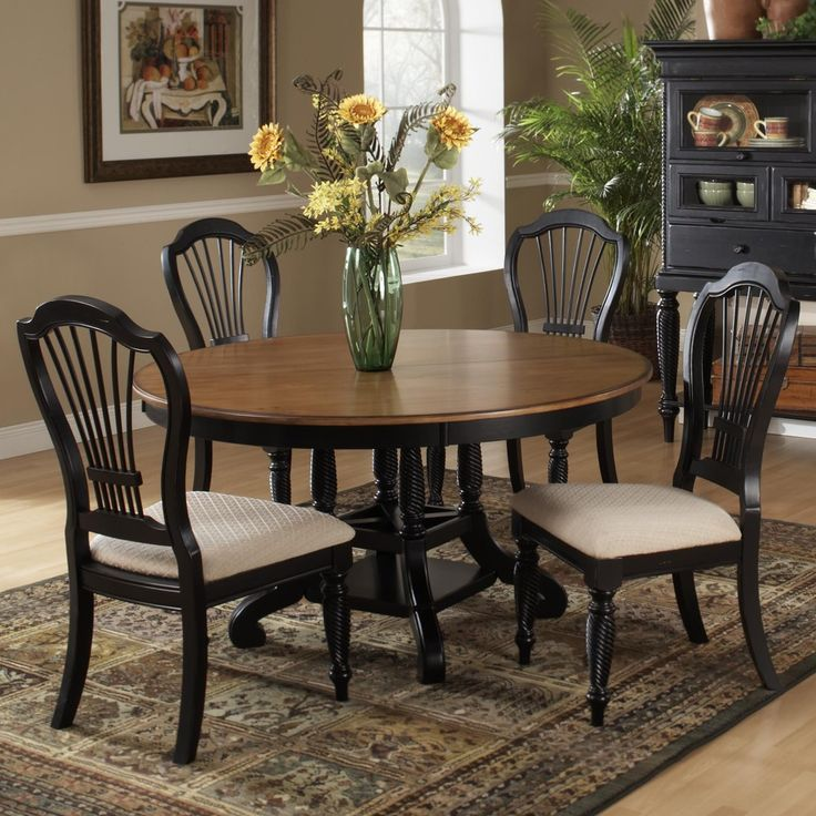 8 Best Round Tables Images On Pinterest  Round Tables Dining Cool Oval Dining Room Table And Chairs Decorating Inspiration
