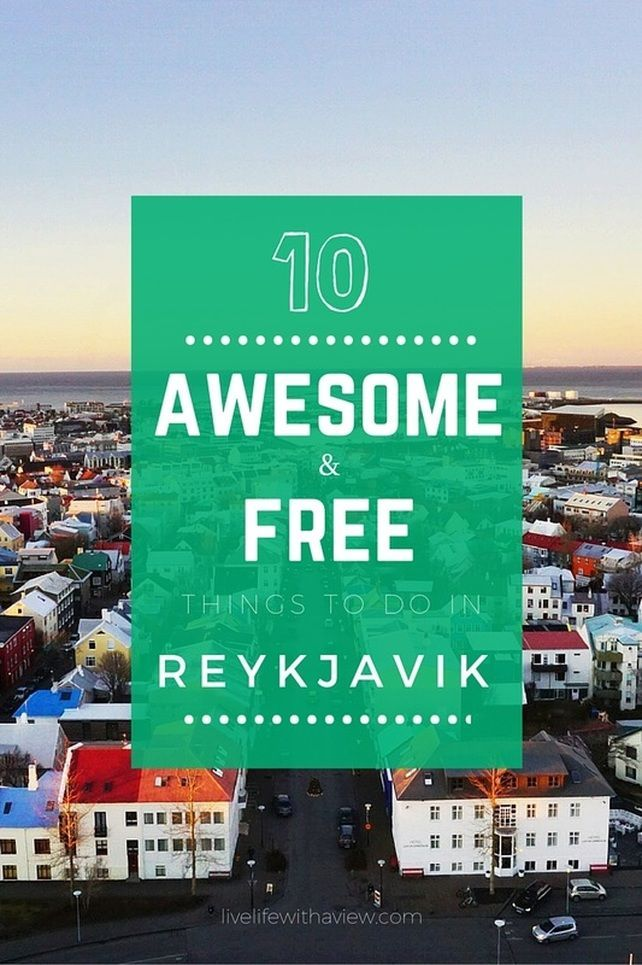 10 Awesome and Free things to do in Reykjavik Iceland   Life With a View