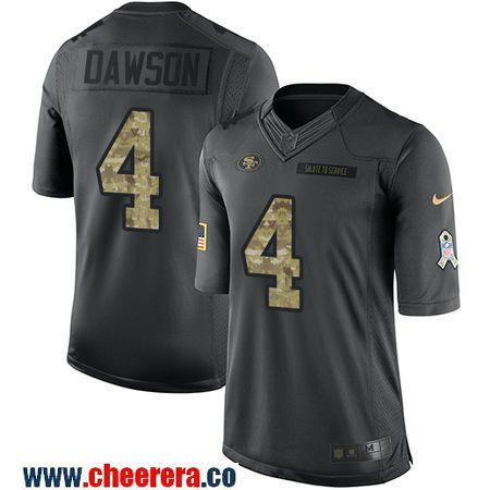 ... Mens San Francisco 49ers 4 Phil Dawson Black Anthracite 2016 Salute To  Service Stitched NFL ... 5b46a8afc