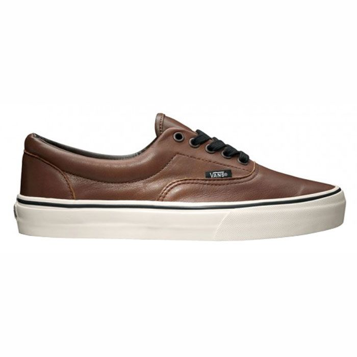 ERA aged leather brown VANS