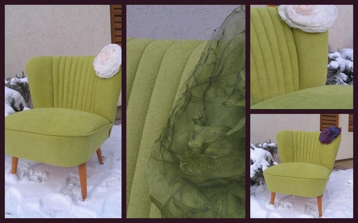 Retro chair. Vintage chair.
