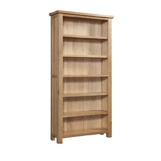 Grasmere Light Oak 6ft Tall Bookcase In 2019 Bookcase