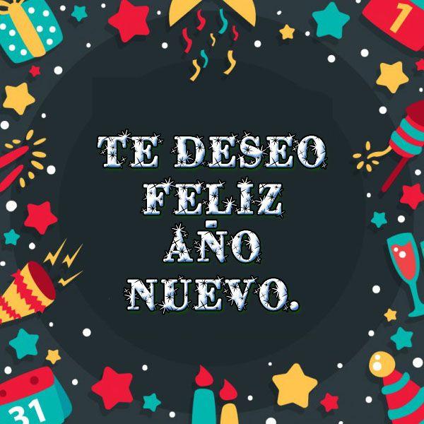 Imagenes De Feliz Año Nuevo Con Frases Bonitas Felicidad