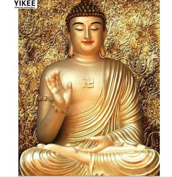 Diamond painting buddha,cross stitch embroidery,5d diamond painting,rhinestones embroidery golden Buddha a7025. Yesterday's price: US $8.20 (6.72 EUR). Today's price: US $4.18 (3.44 EUR). Discount: 49%.