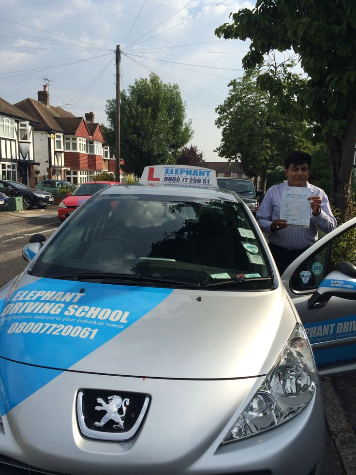 Congratulations to Mr Ejaz Iqbal from Morden who passed his driving test at Morden Driving Test Centre ...