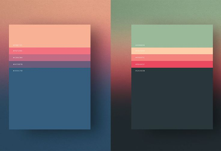 Here's minimalist color palettes of 2015 that's not just minimal but fine looking too. Palette is a specified and limited set of colors for the management of digital images. There's list of colors...