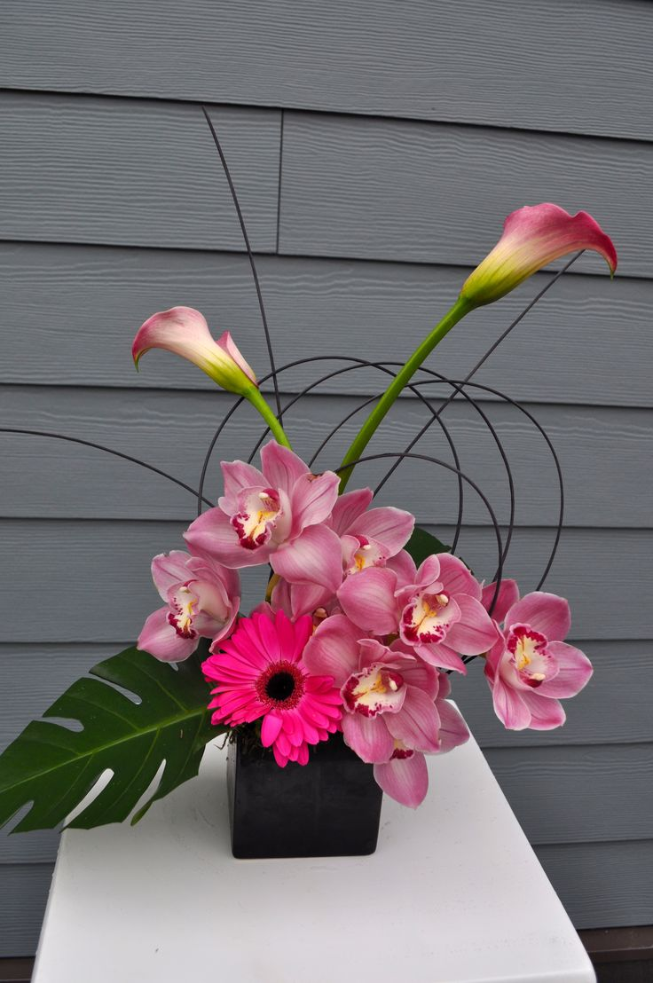 Pink Orchid Design