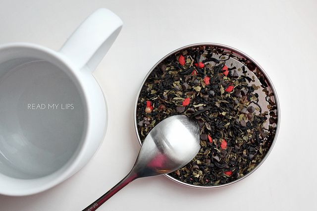 the perfect valentine's day tea. read my lips, by david's tea.