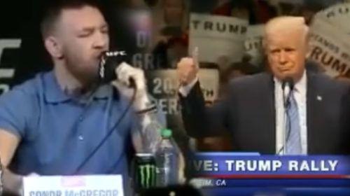 Conor McGregor vs Donald Trump – NEW FIGHT MUST WATCH
