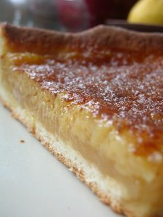 Tarte au sucre belge
