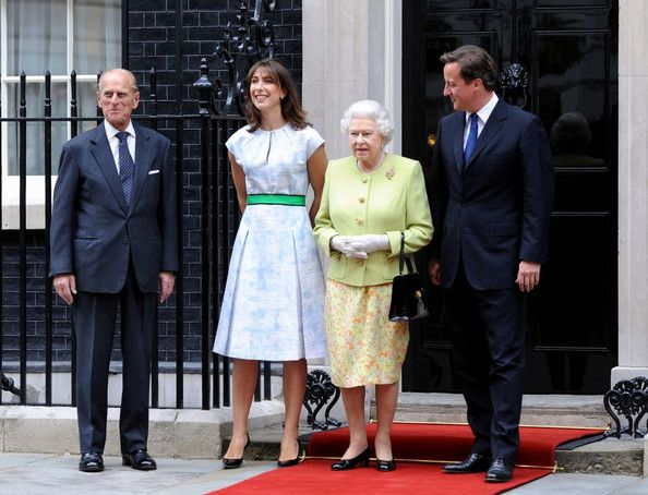 The Queen Lunches with David Cameron