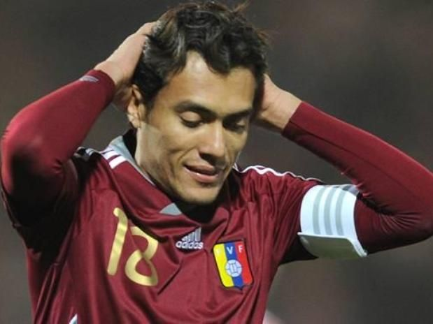 JUAN ARANGO (Venezuela): mediocampista del  Borussia Mönchengladbach alemán que estuvo a punto de dar la sorpresa con Venezuela en Sudamérica.
