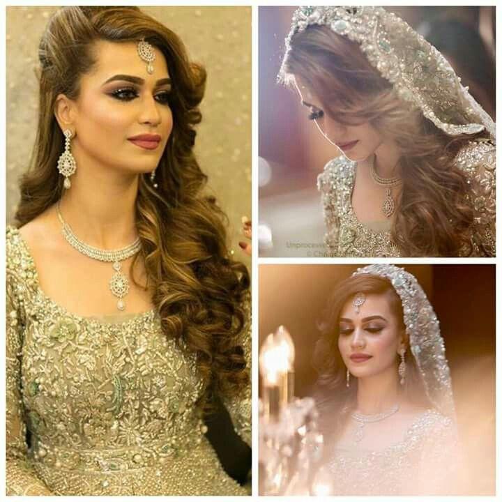 Wedding Party Hairstyles, Pakistani Bridal