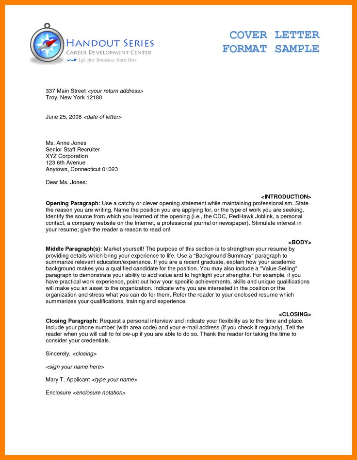 The 25+ best Official letter format ideas on Pinterest Official - application cover letter format
