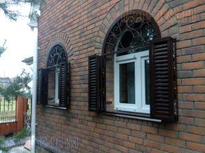арочные ставни на окна