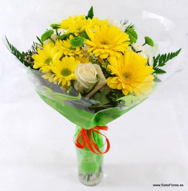 Venta Online de ramos de flores en Zaragoza. SieteFlores. Ramos de flores a domicilio. Compra tus flores por Internet en Zaragoza - Tienda Online de Flores en Zaragoza. Siete Flores