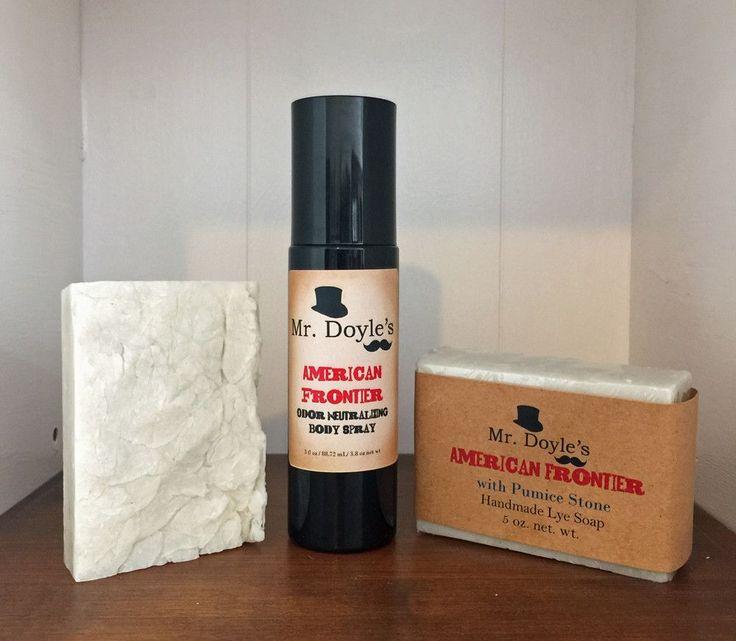 American Frontier Body Spray with Odor Neutralizer