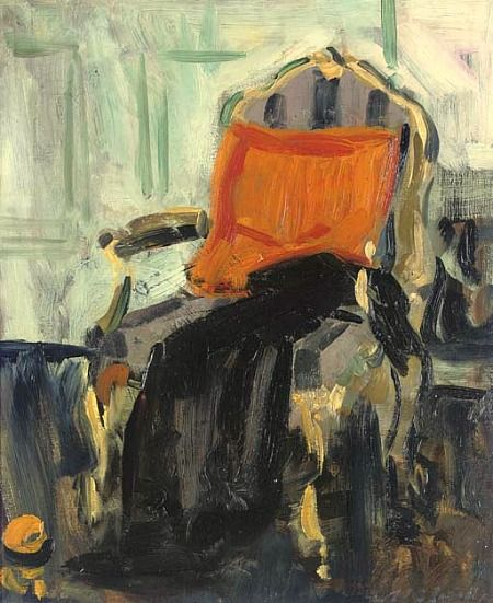 Francis Campbell Boileau Cadell    The Gilt Chair    1914