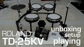 Roland TD-50 playing all kits w. drum-tec diabolo pads PART 1/2 - YouTube