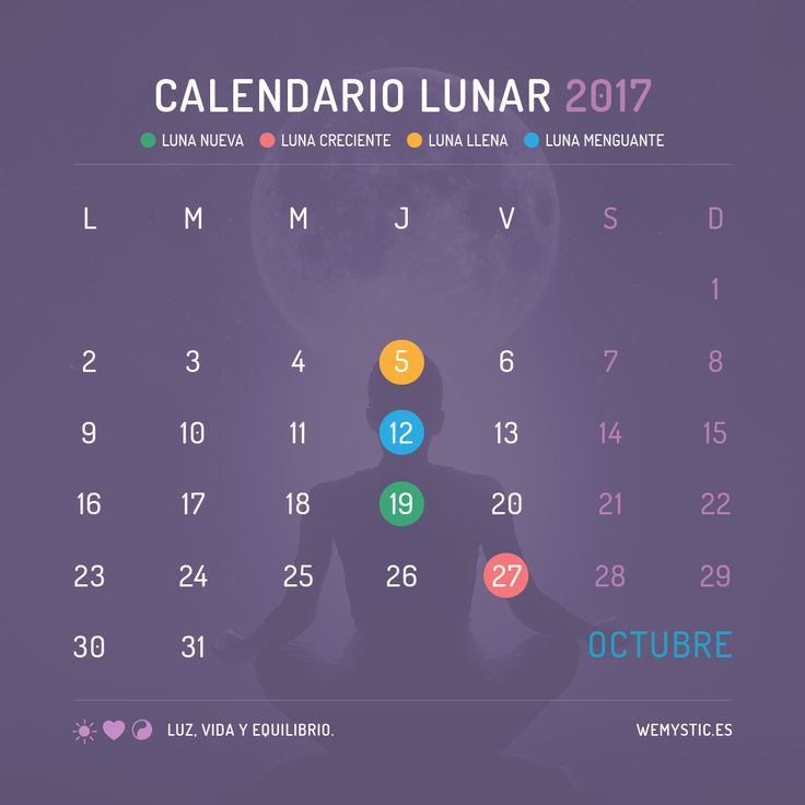 Best 25 calendario lunar 2017 ideas on pinterest Fase lunar octubre 2016