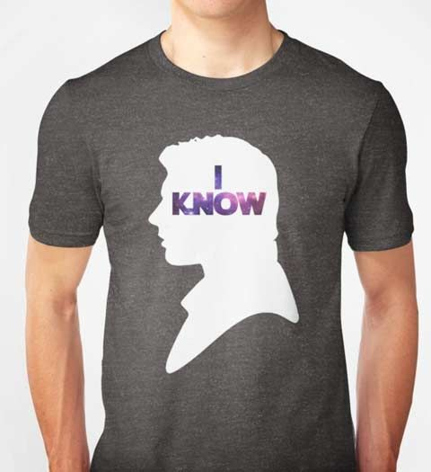 Han Solo I Know! Star Wars T-Shirt