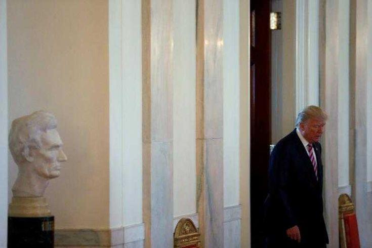 Trump seeks legislative wins as clock ticks, Russia probe looms
