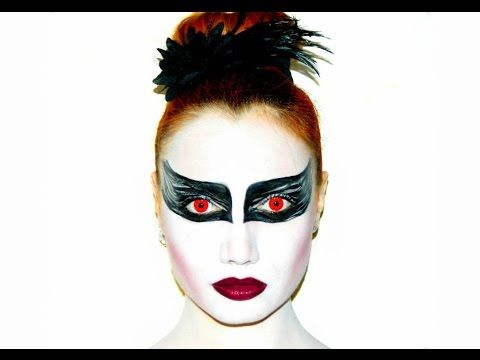 Black Swan (Il cigno nero) Halloween Make up Tutorial | Ginger Makeup