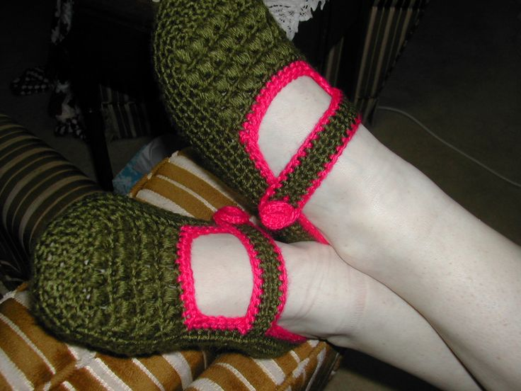 My Slippers in my 2 Favorite Colors