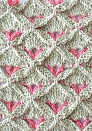 Learn A New Crochet Stitch: Crochet Textured Stitch More