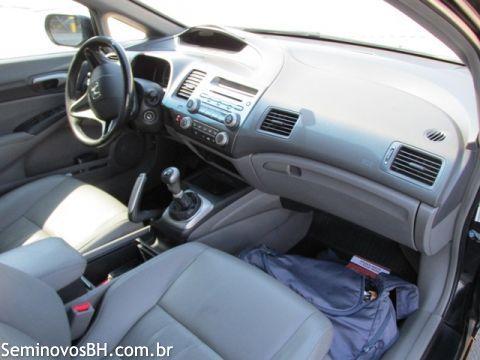 Seminovos BH | Honda Civic 2.0 LXS FLEX cor Preto 2007/2008