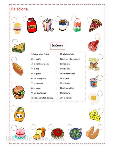 64 Best Foodla Comida Images On Pinterest Spanish Courses