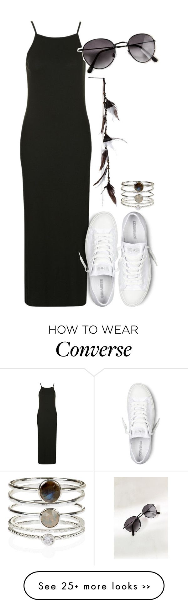 """perrie insp"" by littlemixmakeup on Polyvore featuring Topshop, Converse and Accessorize"