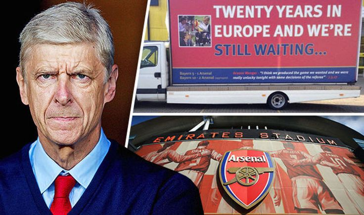 awesome Arsenal News: Gunners fans hire 'Arsene Wenger out' protest van | Football | Sport Check more at https://epeak.info/2017/04/02/arsenal-news-gunners-fans-hire-arsene-wenger-out-protest-van-football-sport/