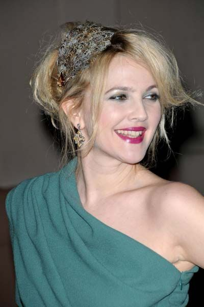 drew-barrymore-elegant-updo-hairstyleright-side-view